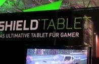 Gamescom 2014 – Nvidia Shield Tablet